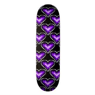 A Heart Pattern Skateboard Deck