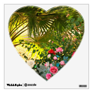 A Heart-Shaped Poster for Valentine's Day! Wall Sticker