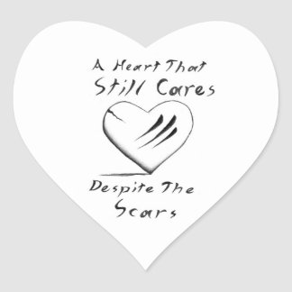 A Heart That Still Cares sticker