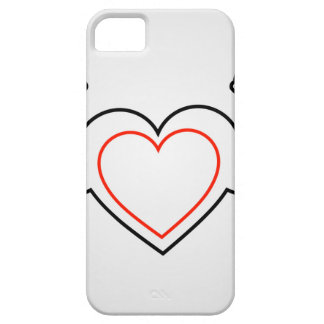 A heart with flexing muscles- Healthy heart iPhone SE/5/5s Case