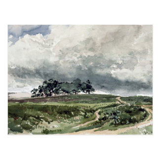 A Heath Scene Postcard