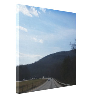 A Heavenly Day Canvas Print