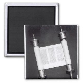 A Hebrew Scroll Magnet