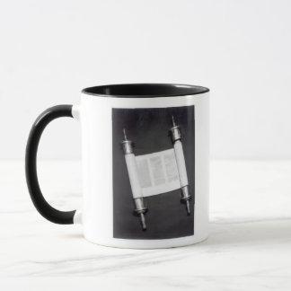 A Hebrew Scroll Mug