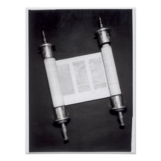 A Hebrew Scroll Poster