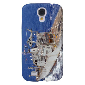 A helicopter clears the flight deck galaxy s4 case