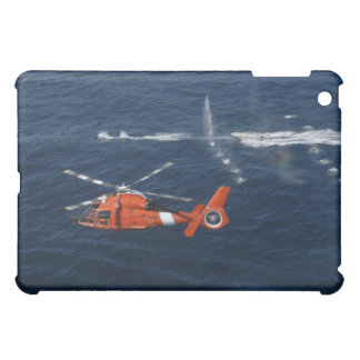 A helicopter crew trains iPad mini cases