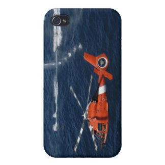 A helicopter crew trains iPhone 4/4S case