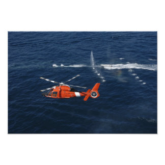 A helicopter crew trains photo print