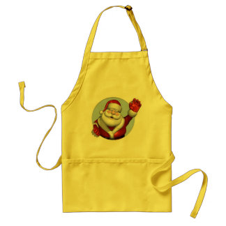 A Hello from Santa Claus - Apron