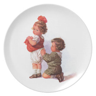 A Helping Hand Plate