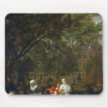 A Herb Market in Amsterdam Mouse Pad