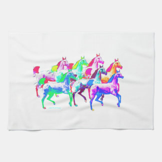 A Herd of the Wildest Horses Hand Towels