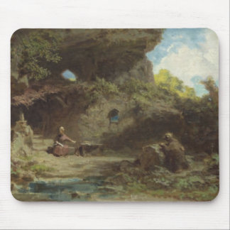 A Hermit in the Mountains Mouse Pad
