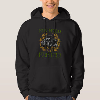 A Hero For The Tractor Field Hoodie