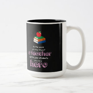A hero Two-Tone coffee mug