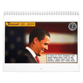 a hero was born - calendar
