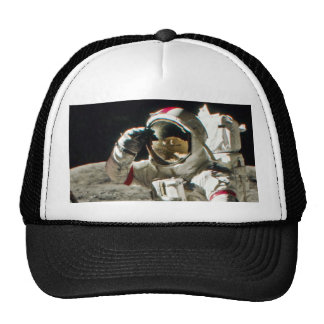A Hero's Salute From Apollo 17 Trucker Hat