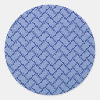 A Herringbone Pattern 4 Stickers