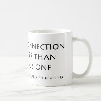 A hidden connection classic white coffee mug