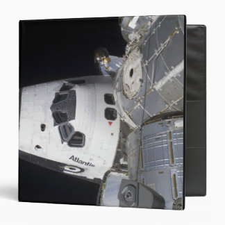 A high-angle view of the crew cabin 3 ring binder