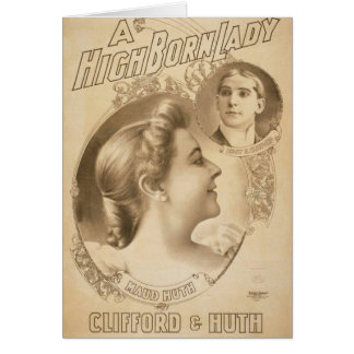 A High Born Lady, 'Clifford & Huth', Maud Huth Greeting Cards