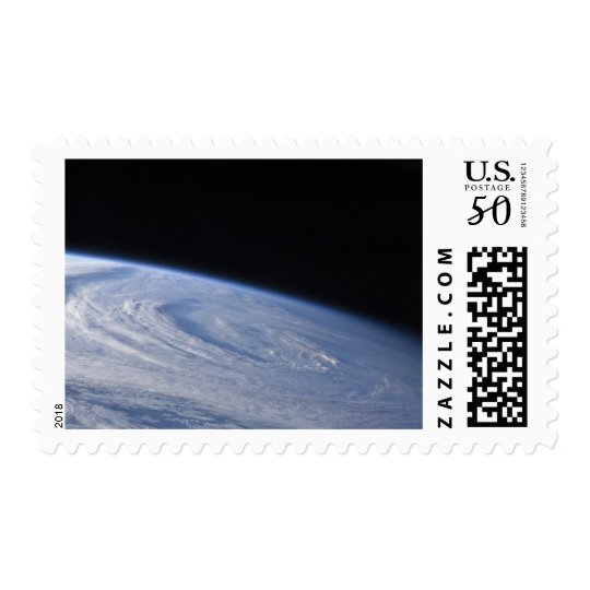 A high-oblique view postage