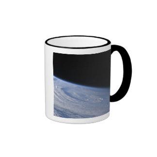 A high-oblique view ringer mug