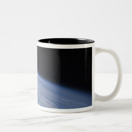 A high-oblique view Two-Tone coffee mug