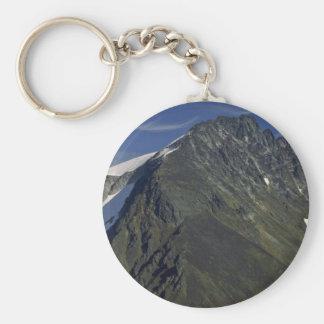 A High Snowy Mountain Keychain