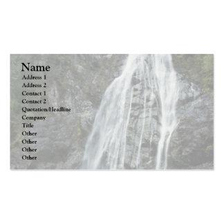 A High Water Fall Business Card