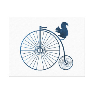 A high wheel canvas print