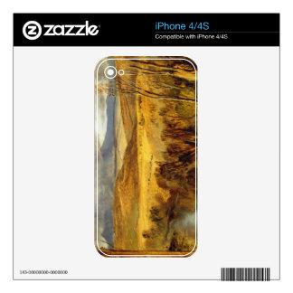 A Highland Landscape, c.1825-35 (oil on board) iPhone 4S Skins