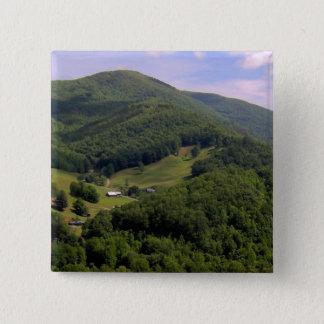 A highland pasture / Maggie Valley, North Carolina Button
