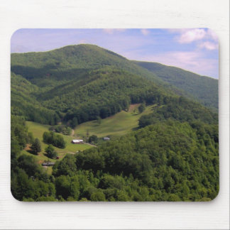 A highland pasture / Maggie Valley, North Carolina Mouse Pad