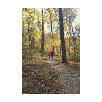 A Hike In The Woods Gallery Wrapped Canvas