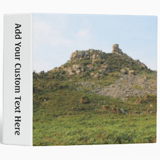 A Hill with Rocks. 3 Ring Binder