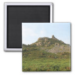 A Hill with Rocks. Fridge Magnet