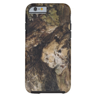 A Hilly Landscape with Figures Approaching a Bridg Tough iPhone 6 Case