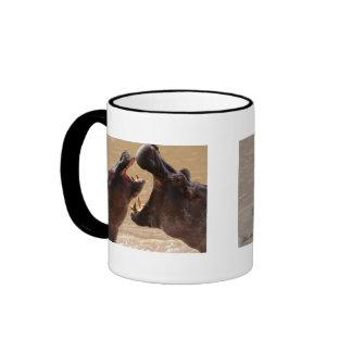 A Hippo Morning Ringer Coffee Mug