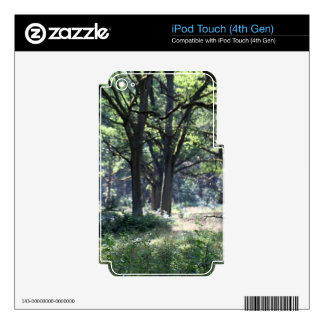 A historical wood pasture with oak trees. iPod touch 4G skins