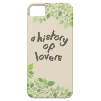 a history of lovers iPhone SE/5/5s case