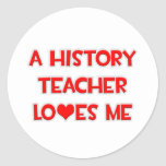 A History Teacher Loves Me Sticker