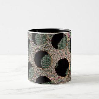 A hole different world! Two-Tone coffee mug