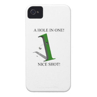 A Hole In One Golf Ball iPhone 4 Case-Mate Cases