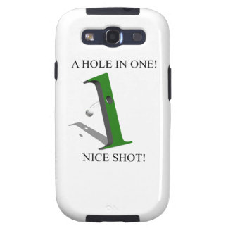 A Hole In One Golf Ball Samsung Galaxy S3 Cases
