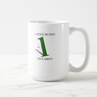 A Hole In One Golf Ball Coffee Mug