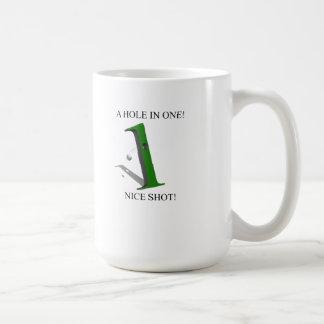 A Hole In One Golf Ball Coffee Mug