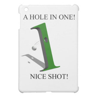 A Hole In One Golf Ball iPad Mini Cases