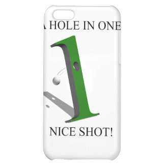 A Hole In One Golf Ball iPhone 5C Covers